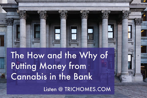 The How and the Why of Putting Money from Cannabis in the Bank